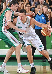 Donatas Motiejunas established himself as a top-level forward in Europe, prior to his move stateside